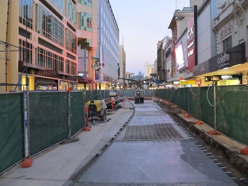 Rundle Mall upgrade works