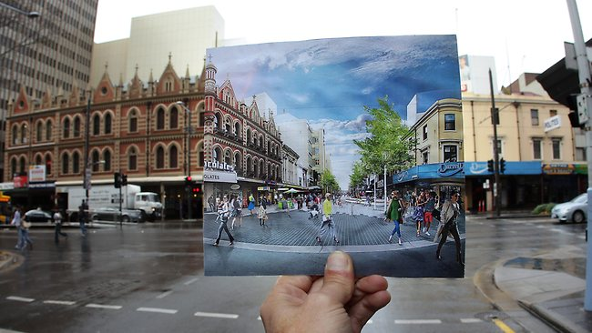 Rundle Mall upgrade vision