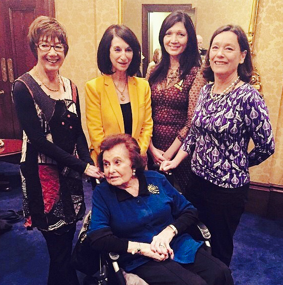 The Lady Mayoress Genevieve Theseira Haese with former Lady Mayoresses
