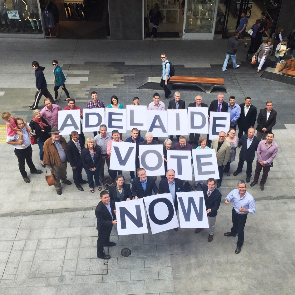 Adelaide Vote Now local Government elections South Australia