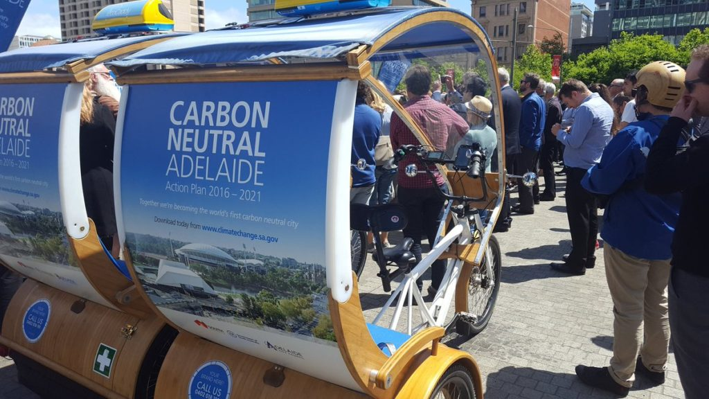 Carbon Neutral Adelaide Eco Caddy