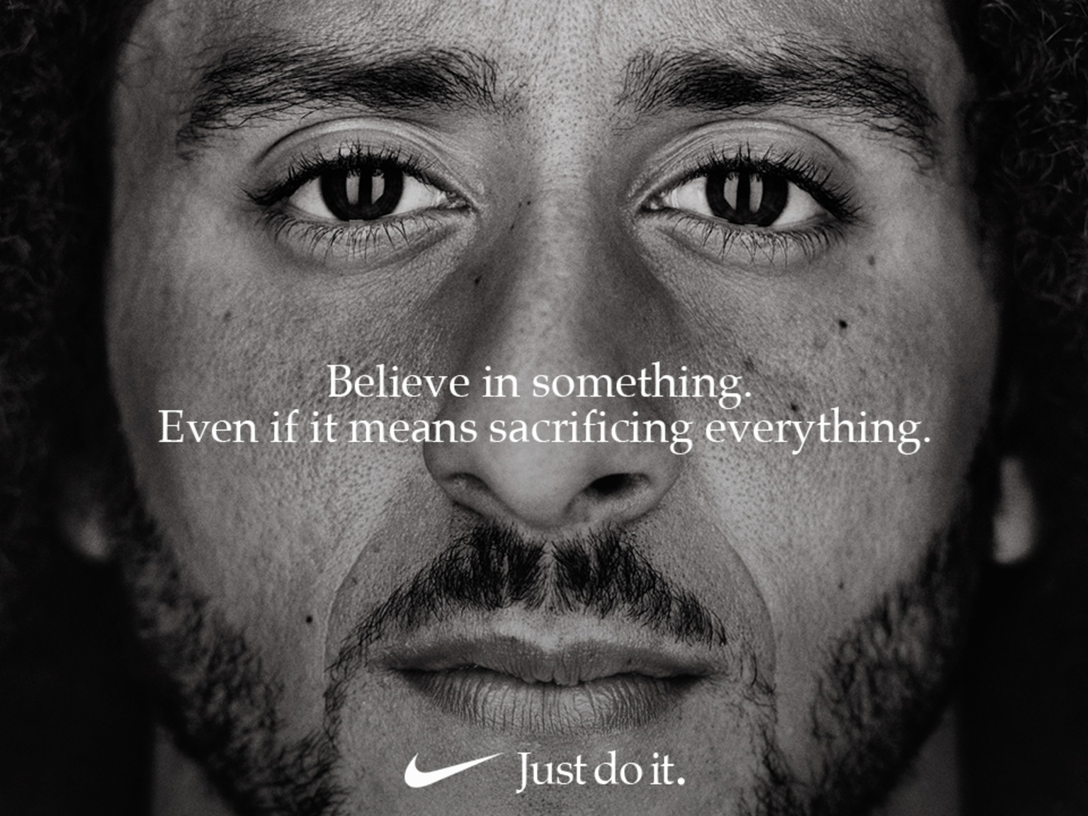 Colin Kaepernick - Nike - Just Do It