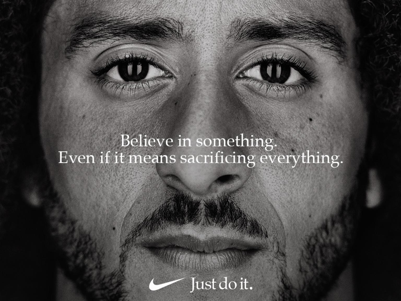 Colin Kaepernick - Nike - Just Do It