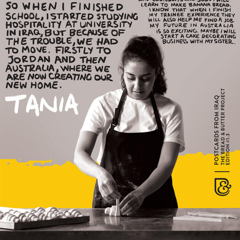 The Bread and Butter Project - Tania