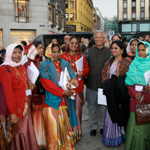 Professor Yunus - Grameen Bank