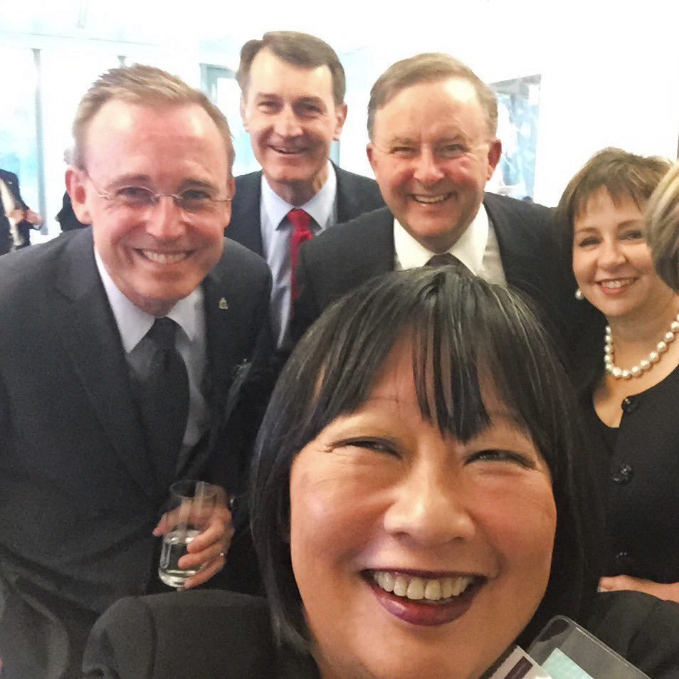 Council of Capital City Lord Mayors Graham Quirk, Martin Haese, Katrina Fong Lim, Sue Hickey and the Honourable Anthony 'Albo' Albanese MP