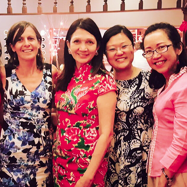 Lady Mayoress Genevieve Theseira-Haese Sister Cities - City Sisters Christchurch Penang Qingdao