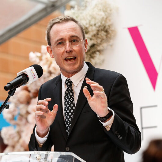 Lord Mayor Martin Haese Rundle Mall Vogue Australia Magazine Festival
