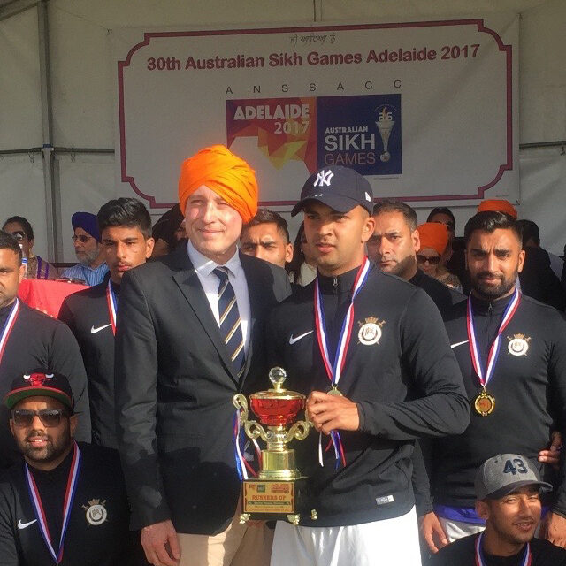 Lord Mayor Martin Haese Sikh Games Adelaide South Australia