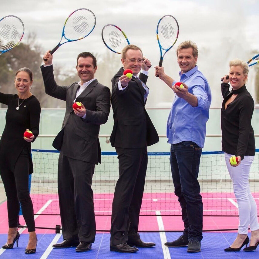 Lord Mayor Martin Haese Tennis South Australia