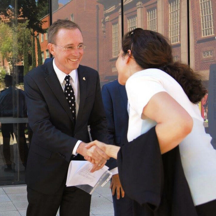 Lord Mayor Martin Haese University of Adelaide